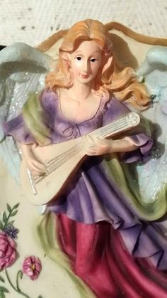 Collectible Angel Wall Hanging Plate Small Decorative Ceramic Angels Plate Rack | eBay