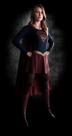 First Official Images Of Melissa Benoist In Full Costume As SUPERGIRL