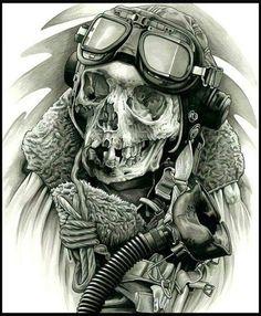 Pilot skull.