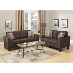 Bobkona Spencer 2 Piece Living Room Set