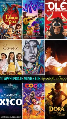 10 Appropriate movies for Spanish class - Mis Clases Locas
