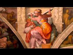 """Descubriendo el Vaticano- Capilla sixtina - Vasari: """"esta obra ha sido realmente el faro que tanto ha beneficiado e iluminado al arte; por sí sola ha basado para alumbrar al mundo que durante siglos había estado en tinieblas""""."""