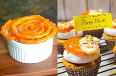From classics like Jalebi and Gulab Jamun to kicked-up versions with Gajar ka Halwa and Rasmalai, we bring you cupcake flavours with a Desi twist. Cupcake Flavors, Cupcake Recipes, Baking Recipes, Flavored Cupcakes, Cupcake Cakes, Indian Dessert Recipes, Indian Sweets, Shot Glass Desserts, Eggless Baking