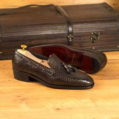 Hot Shoes, Men's Shoes, Dress Shoes, Goodyear Welt, Calf Leather, Red Leather, Luxury Shoes, Custom Shoes, Loafers Men