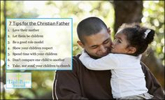 If you want your children to grow up knowing God and walking in faith with Him, there are certain things that the Christian father must do. Christian Dating Site, Christian Parenting, Senior Dating Sites, Dating Memes, Prayers For Men, Where In The Bible, Christian Relationships, Dont Compare, Divorce Humor