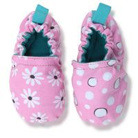 WeeChooze in Behave Pink Weechooze Baby Booties: Designed to delight tiny toes and engage little inquisitive minds, weechooze features CHOOZE's signature coordinating prints, stimulating colors, super soft microfiber lining, elasticized ankles, and non-slip soles. Available in 3 sizes: 0-6 months, 6-9 months, and 9-12 months.