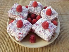 Diabetic Recipes, Diet Recipes, Healthy Recipes, Food To Make, Raspberry, Deserts, Sweets, Snacks, Baking