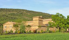 Stunning Mountain View at La Belle Etoile Guesthouse in the Drome Provençale