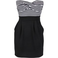 Have a dress like this but its not strapless, like this one better!