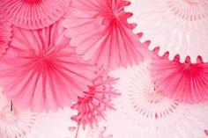 Gwynn Wasson Designs: {Currently Crushing} Paper Fan Backdrops