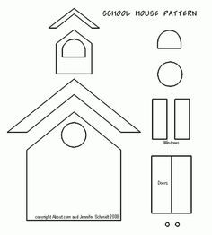 School Scrapbook Page Ideas and Free Paper Piecing Patterns