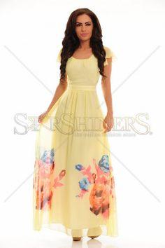 LaDonna Infinite Pleasure Yellow Dress