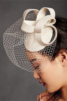 Silk Coil Hat in SHOP Shoes & Accessories Headpieces at BHLDN.com $120