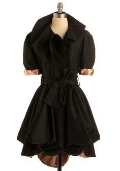 Sumptuous Satin Coat