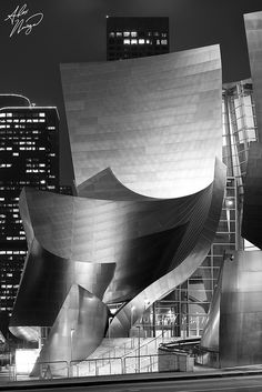 Walt Disney Concert Hall, downtown Los Angeles