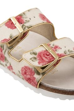 Roses double bends low sandal | Shoes - Birkenstock | Fashion Ideas For Women - Apres Paris