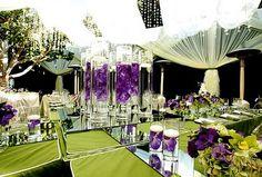 Purple Passion & Inspiration for wedding decor ~ love!