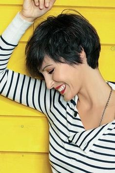 Cute cut...If I ever decide to go this short.