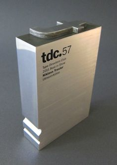 TDC best in show award. Designed by Graham Clifford.