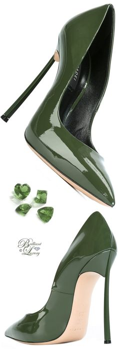 Brilliant Luxury by Emmy DE ♦ Casadei Stiletto Heel Pumps