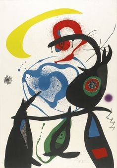 Oda a Joan Miró (Mourlot 910) (1973) - Joan Miró