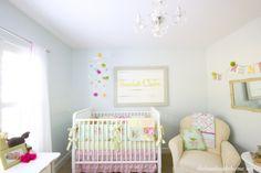 scarlett's nursery tour {nursery inspiration} | the handmade home