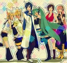 VOCALOID Creds by ? @Pixiv