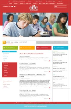 ABC Responsive Joomla School Template