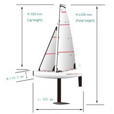 Big Fast Racing RC Sailing boat for Adults DragonForce65 - Joysway Hobby Model Sailboats, Im Waiting For You, Boat Building Plans, Rc Hobbies, Sailing Boat, Model Ships, Racing, Radio Control, Dragon