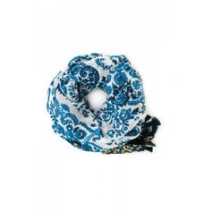 """Blue Paisley Scarfby Spartina 449 ~Soft linen and viscose blend~25""""x74"""""""
