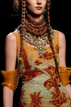 Jean Paul Gaultier S'S 2010 couture jungle.