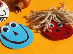 καρυδότσουφλο : Φτιάχνουμε μαγνητάκια για το ψυγείο μας!