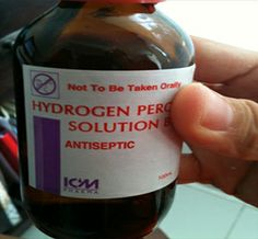 Home Remedies using Hydrogen Peroxide-There are so many great home remedies that use Hydrogen Peroxide #HydrogenPeroxide #remedies