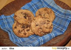 Americké čokoládové sušenky recept - TopRecepty.cz Cookies, Food, Crinkles, Fine Dining, Biscuits, Essen, Cookie Recipes, Cookie, Cake