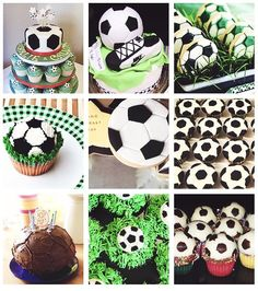 football cakes <3 love it!