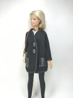 Coat for Barbie by BarbieClothBoutique on Etsy
