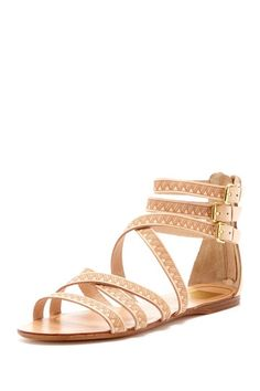 Dolce Vita Marquez Flat Sandal.  Triangles