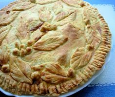 Mrs Miggin s Pie Shoppe -  Old English Bacon and Egg Pie! from Food.com: This is such an easy and simple recipe to make, and yet the result is full of flavour, tasty and a real British classic. You will find this pie on the menu in Britain for lunch, afternoon tea, supper, as a snack, for a picnic, in a lunch box and I am also suggesting this recipe would be great for Brunch as well! This is another slightly adapted classic recipe from my trusty Be-Ro Flour cookbook. This can be made ahead…