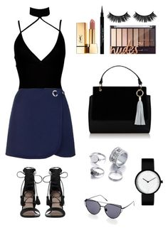 """""""Untitled #336"""" by cat2800 ❤ liked on Polyvore featuring Boohoo, Zimmermann, Topshop, Givenchy and Yves Saint Laurent"""