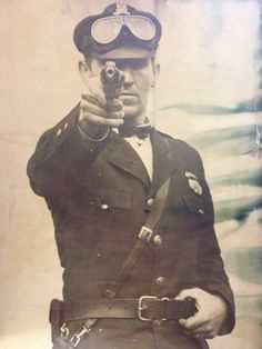 """My badass great grandpa, when he was chief of police in Harrisburg, PA"""