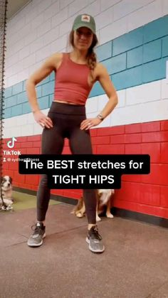 Gym Workout Tips, Fitness Workout For Women, Hip Workout, Workout Videos, Yoga Fitness, At Home Workouts, Sport, Flexibility Workout, Workout For Beginners