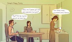 Tumblr 1 - Snape's Parents by julvett.deviantart.com on @deviantART
