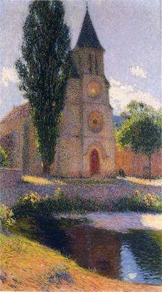 Henri Martin Church-at-Labastide-du-Vert,-1919