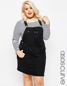 The cutest dungaree dress, great with superstars : http://asos.do/5Hto11