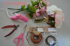 DIY: Floral Halo