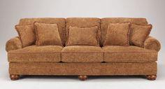 Canapea din material textil, cu design exotic  - Exotique.ro