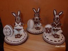 Bunny gingerbread