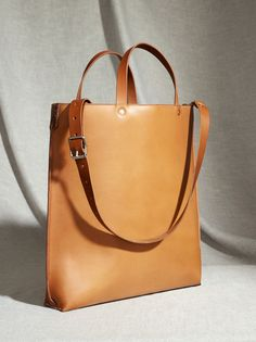 Böle Tannery, Veggy dies Leather goods, Classic, Tote bag by Linda Zetterman
