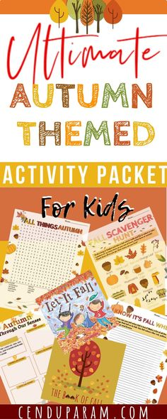 The ultimate collection of autumn themed activities and printables for kids. Autumn themed scavenger hunts for those cool crisp fall walks. Fall themed word searches to look for fall words. The best fall books, fall activities and worksheets to keep little minds engaged while enjoying fall. The best part: its all free! There's autumn indoor activities to challenge little ones and awesome outdoor fall activities to get your kids active and jumping in the leaves. #autumnbooks #fallactivities