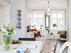 Dining room-living room